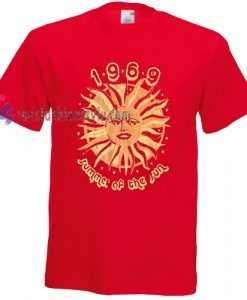 1969 summer of the sun Tshirt gift