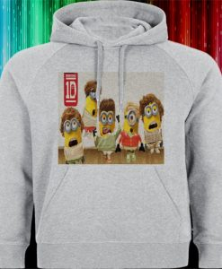 1D one direction minion personil Hoodies