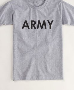 ARMY Quarter Sleeve Tshirt