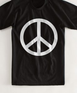 Peace Sign logo Tshirt