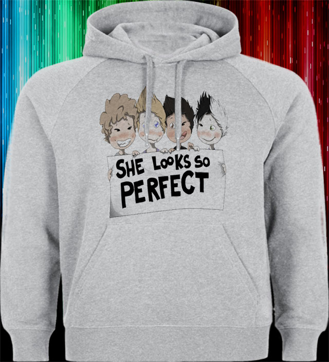 5 SOS she looks so perfect Hoodies sweater