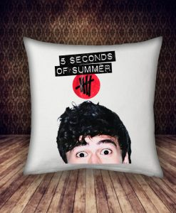5 Second Of Summer two eyes pillow case