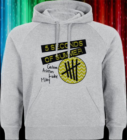 5 second of summer logo Hoodies