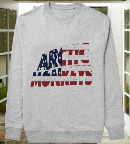 Arctic Monkeys American Flag sweater