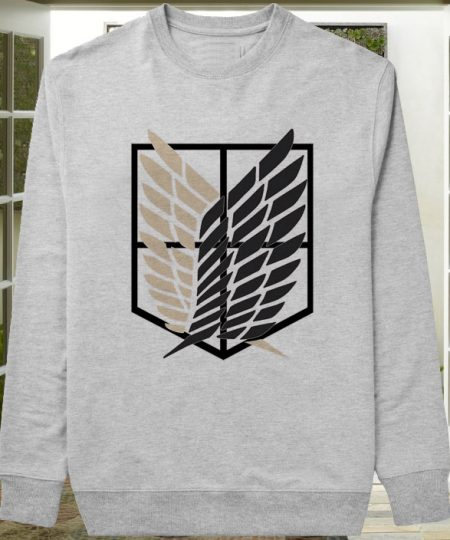 Attack on Titan band sweater