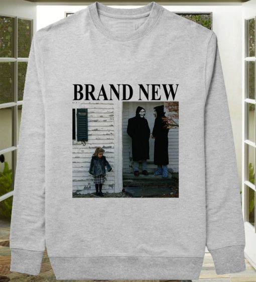 Brand New The Devil And God sweater