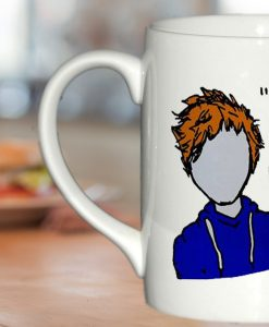 ed Sheeran The A Team Lyric Cartoon mug