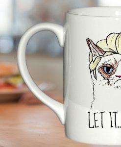 Grumpy Cat Elsa Let it go mug