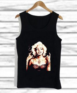 Marilyn Monroe With Tattoo tank top