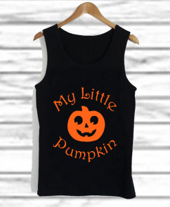My Little Pumpkin tank top
