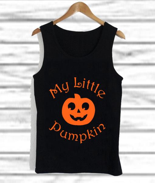 My Little Pumpkin tank top
