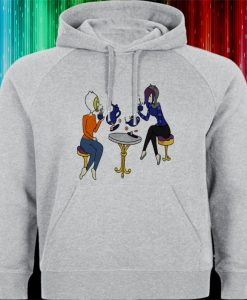 adventure time tea time Hoodies