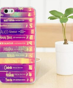 all disney book library iphone cases