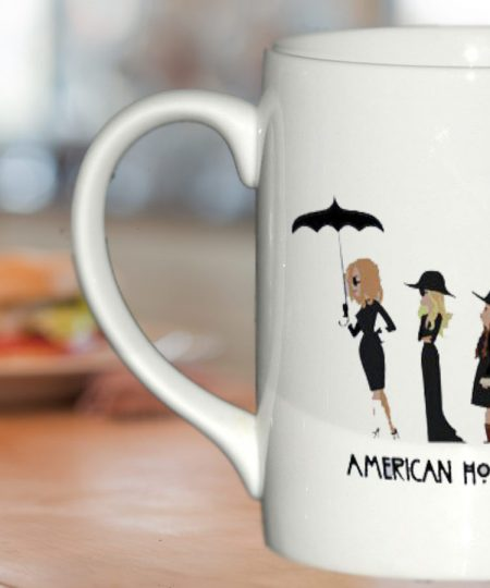 american horror story mug