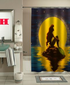 ariel the little mermaid shower curtain