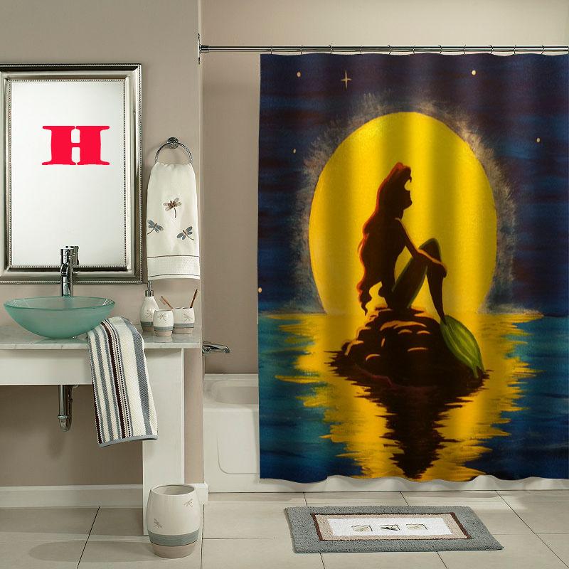 Ariel The Little Mermaid Shower Curtain