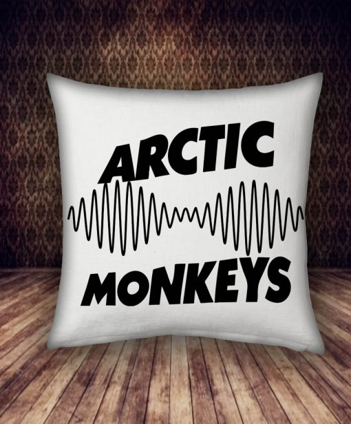 arctic monkeys band pillow case