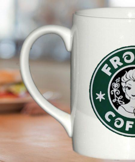 disney frozen starbucks logo mug