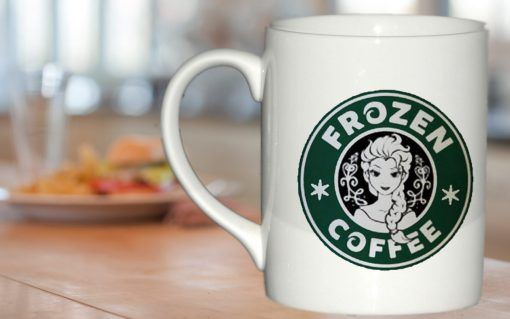 disney frozen starbucks logo mug