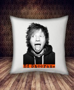 hi! Ed Sheeran pillow case