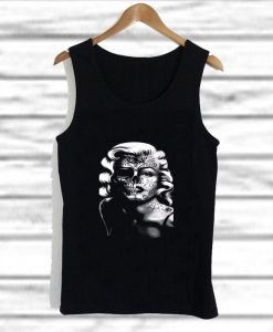 marilyn monroe dead of the dead tank top