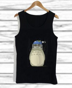 studio ghibli inspired totoro tank top