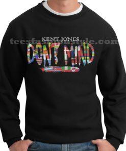 one hour kent jones dont mind flag sweater