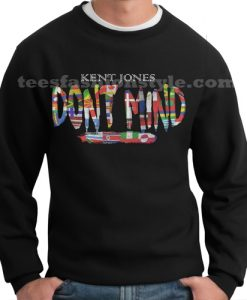 one hour kent jones dont mind flag sweater