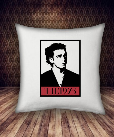 the 1975 band pillow case