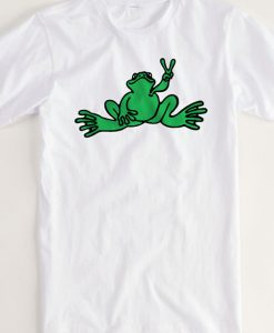 Peace Frogs tshirt