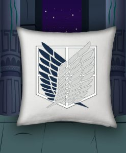 Attack on titan pillow case