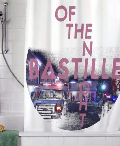 Bastille Of The Night Shower Curtain