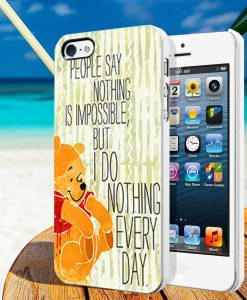 Disney Pooh Quotes iphone cases