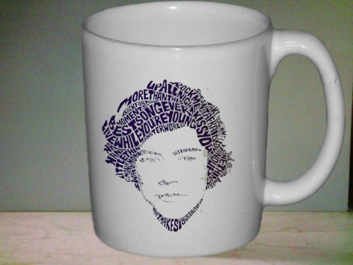 Harry Styles Typographic one direction mug