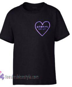 baby girl logo tshirt