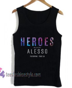 heroes alesso album cover tanktop