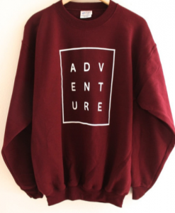Adventure sweatshirt