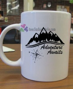 Adventure Awaits mug gift