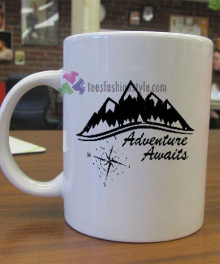 Adventure Awaits mug gift