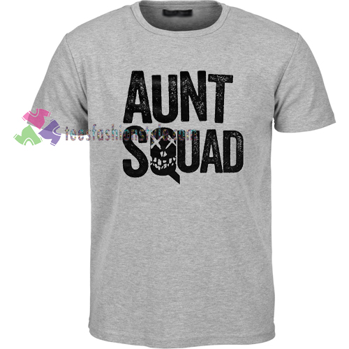 Aunt Squad skull gift Tshirt