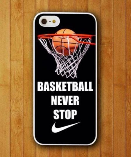 BasketBall Never Stop Phone Cases