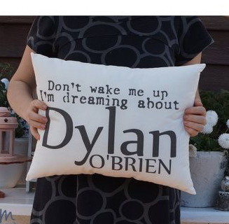 Don't Wake Up Dylan O' Brien pillow case