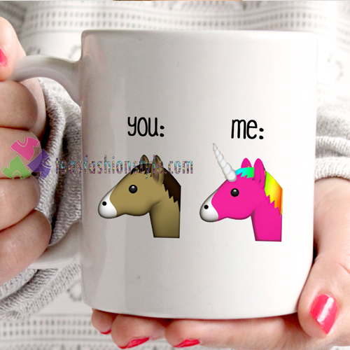 Emoji You And Me mug