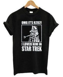 OMG R2D2 Star Trek Tshirt