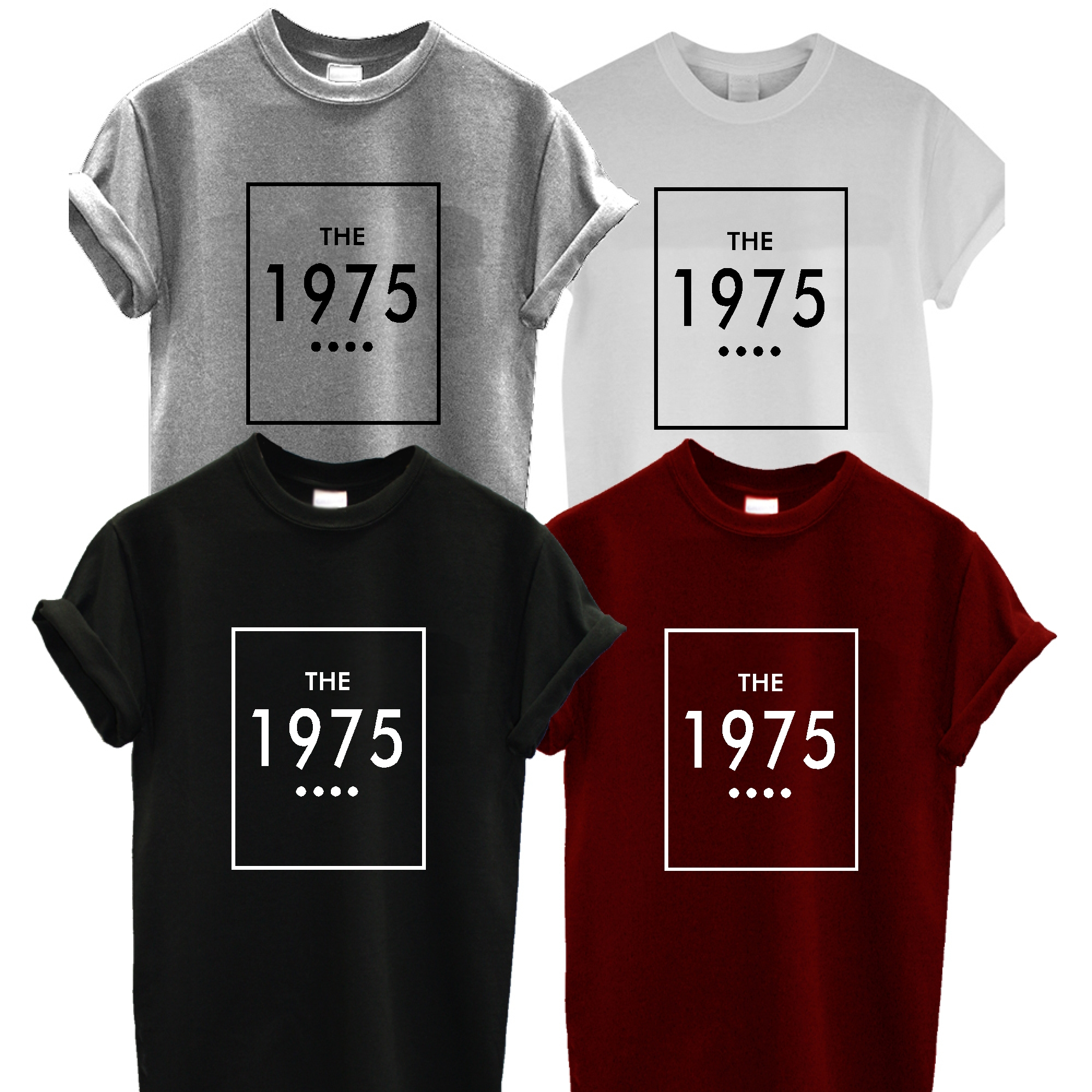 9757cd939 The 1975 Band Tshirt shirt Tees adult unisex gift clothing