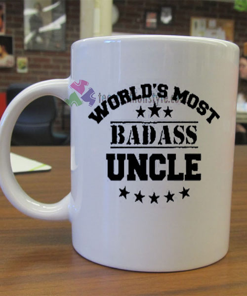 World's Most Badass Uncle mug gift