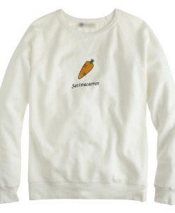 A Carrot sweatshirt