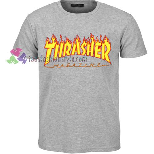 7e2a4dd4737e thrasher magazine Tshirt shirt Tees Adult Unisex custom clothing