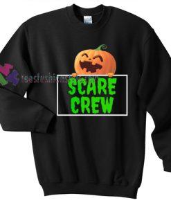 Scare Crew Pumpkin Halloween gift sweatshirt