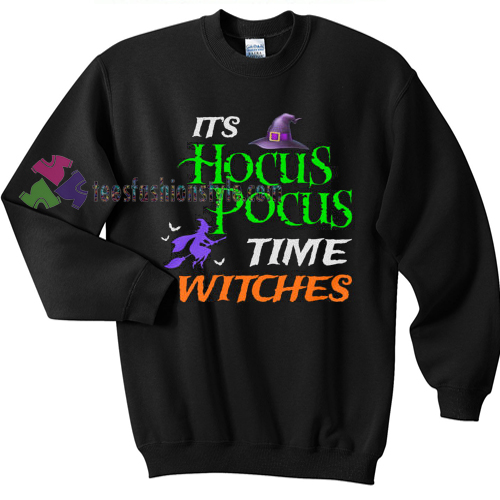 Time Witches Halloween gift sweatshirt